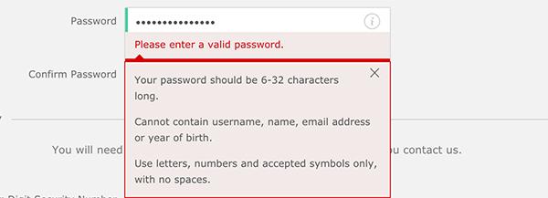 Bet365 Password