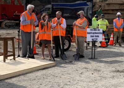 Governor and team breaking ground on the Nitro 64 project