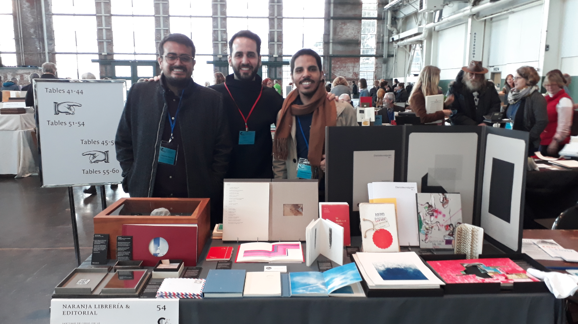 Naranja en Bienal CODEX 2019