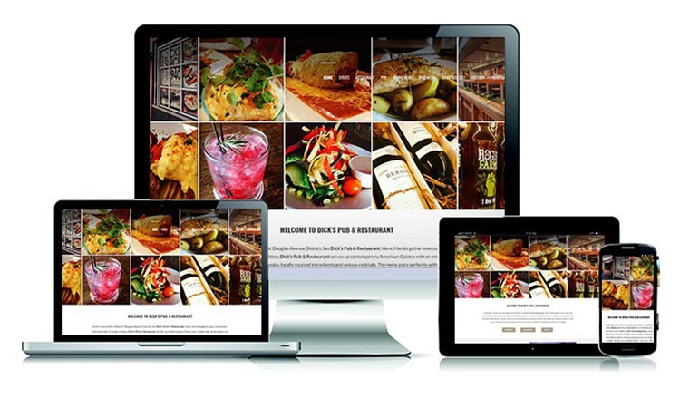 Dick's Pub & Restaurant - Website created by Carlos Mendivil