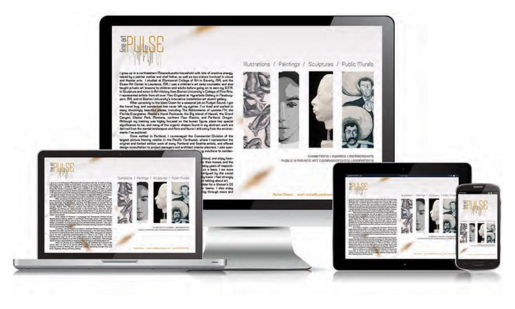 Pulse Fine Art - Website created by Carlos Mendivil