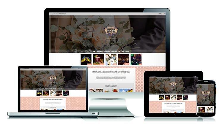 Serf Theatre - Website created by Carlos Mendivil
