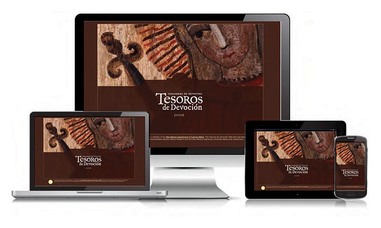 Tesoros De Devocion Exhibit - Website created by Carlos Mendivil
