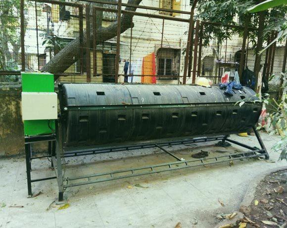 100 kgs, 2000 lts  Compost System Motorised