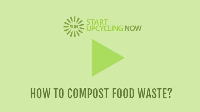 How to Compost Food waste ?