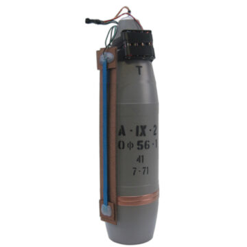 122mm Artillery Projectile IED (Hacksaw Pressure Plate)