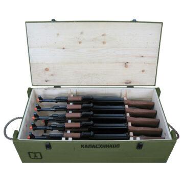 AK-47 Rifles Crate (with 10x AK-47 Replicas)
