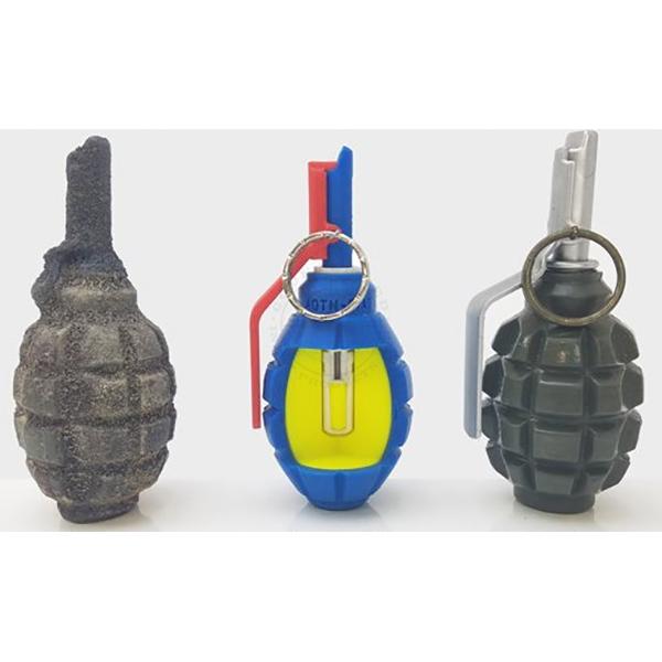 F-1 Soviet Frag Grenade - Inert Classroom Training Set