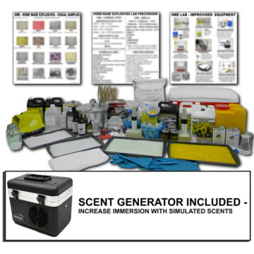 Large HME Lab - Inert Training Kit with Scent Generator