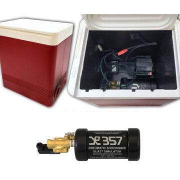 Non-Pyro Blast Simulator - Small Cooler Training IED Device