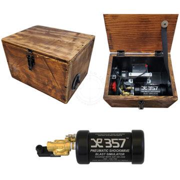 Non-Pyro Blast Simulator - Wooden Box IED Training Device