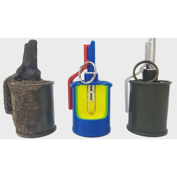 RG-42 Frag Grenade - Inert Classroom Training Set