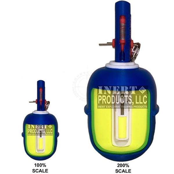 AOTM RGD-5 Grenade Cutaway - Inert Classroom Training Aid