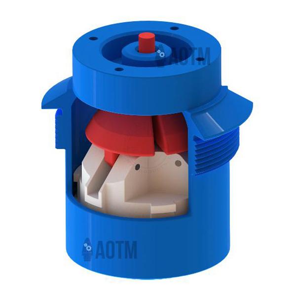 AOTM BLU-24/B Cutaway (Fuze Only) - Inert Classroom Training Aid