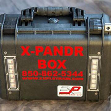 X-PANDR Pneumatic Blast + Flash Simulator