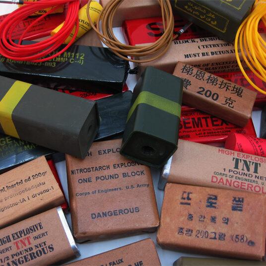 Inert Explosives