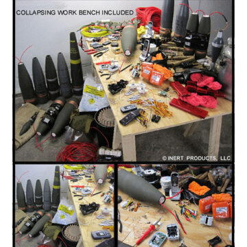 Middle Eastern Bomb Builder Simulated IED Workshop Kit