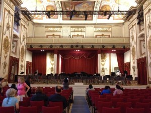 Euro Haydn Hall stage