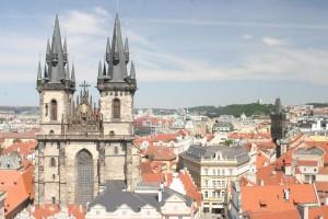 Euro Prague cityscape