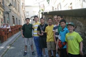Euro YOCJ boys in Prague