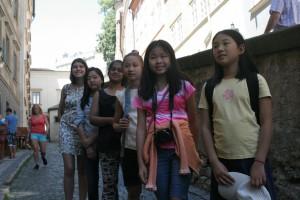 Euro YOCJ girls in Prague