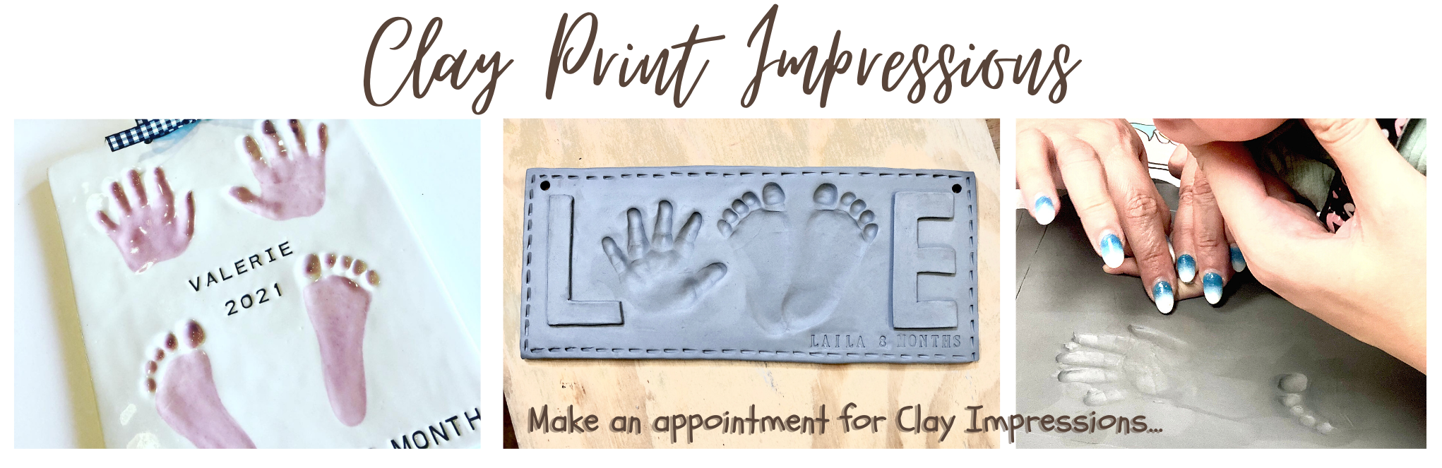 Clay prints banner