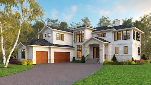 Priddis Transitional custom luxury house
