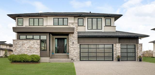 Watermark at Bearspaw Prairie custom home design featured