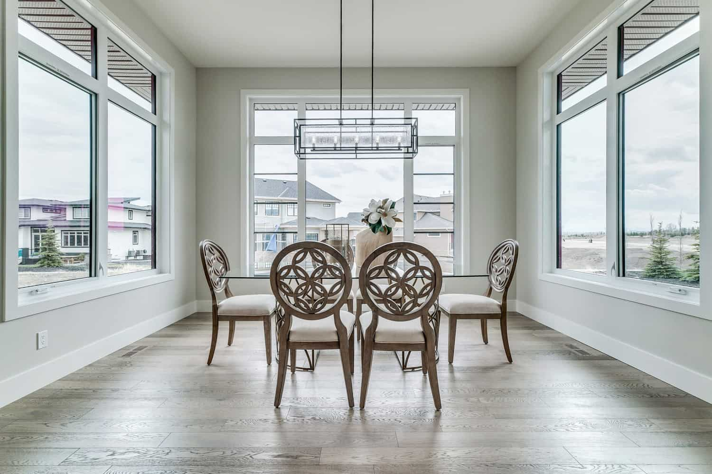 Watermark at Bearspaw dining room design