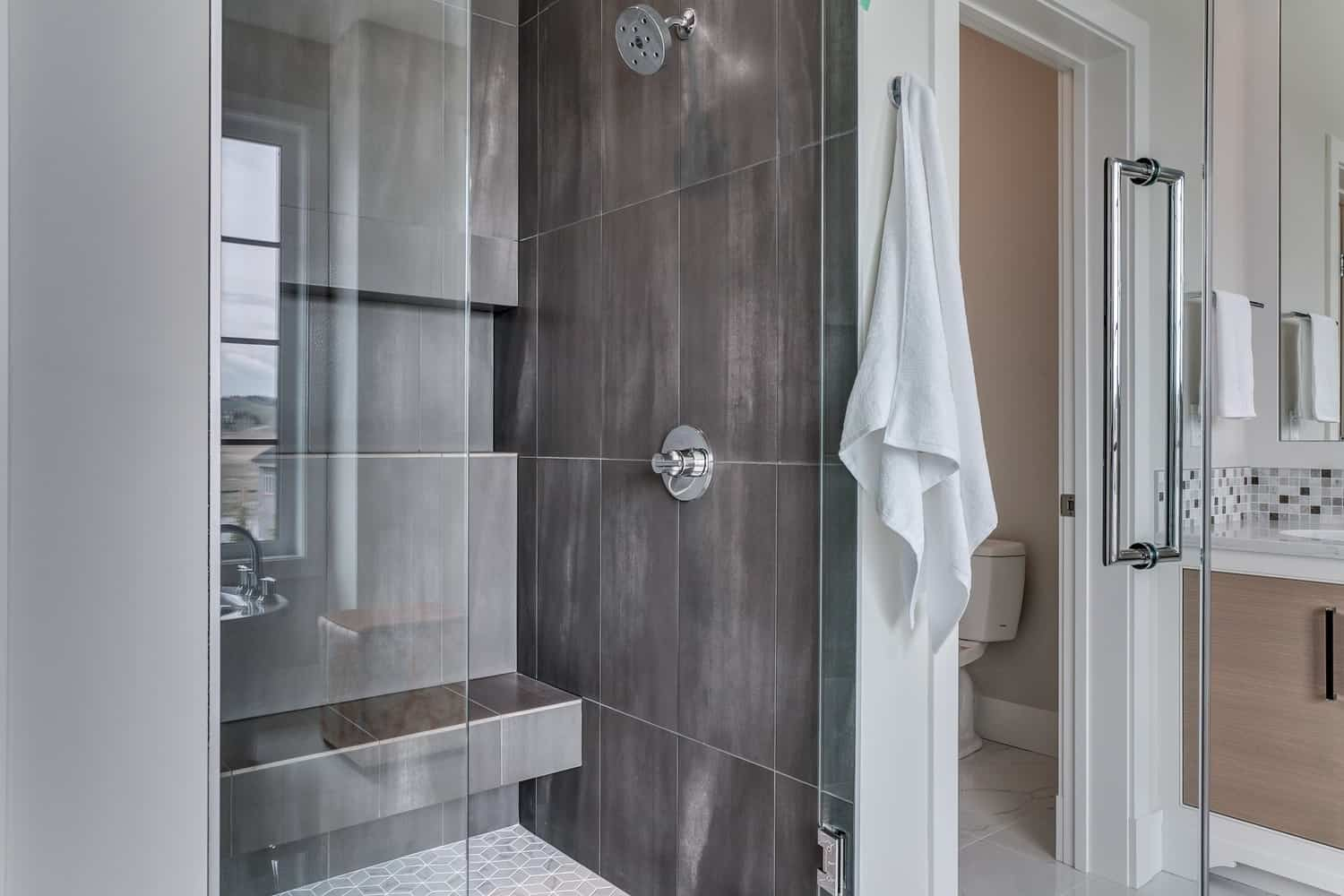 Watermark at Bearspaw ensuite shower dream home