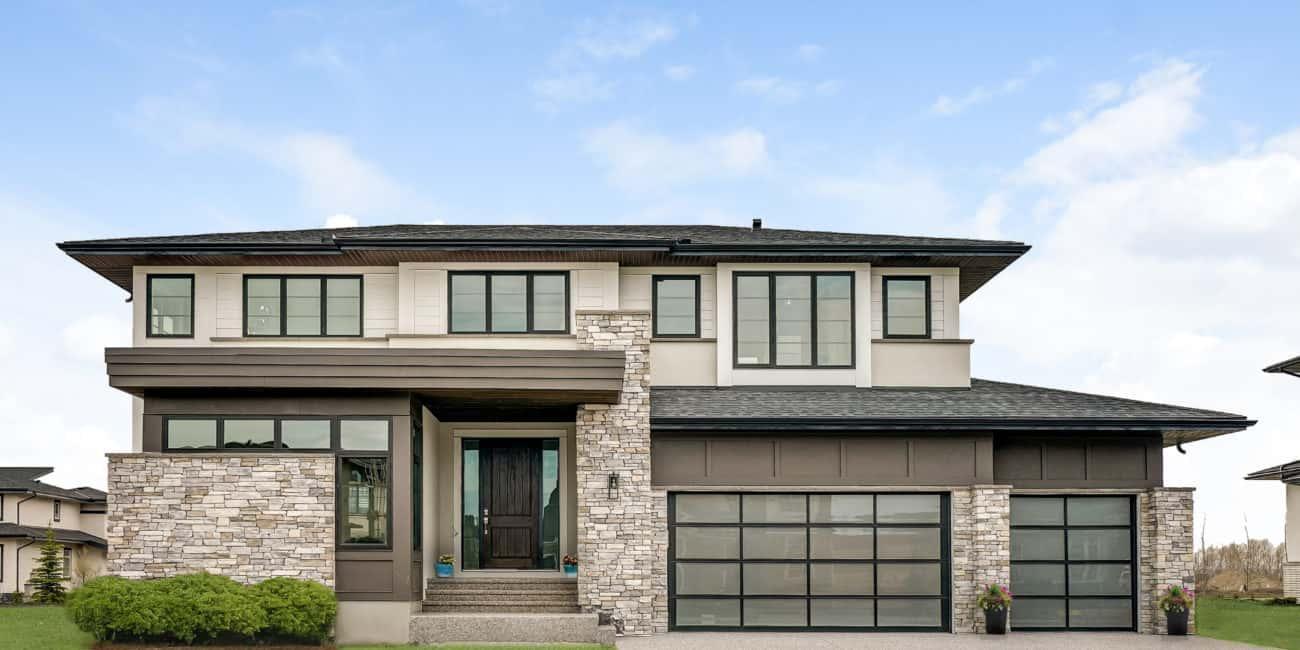 Watermark at Bearspaw custom home design
