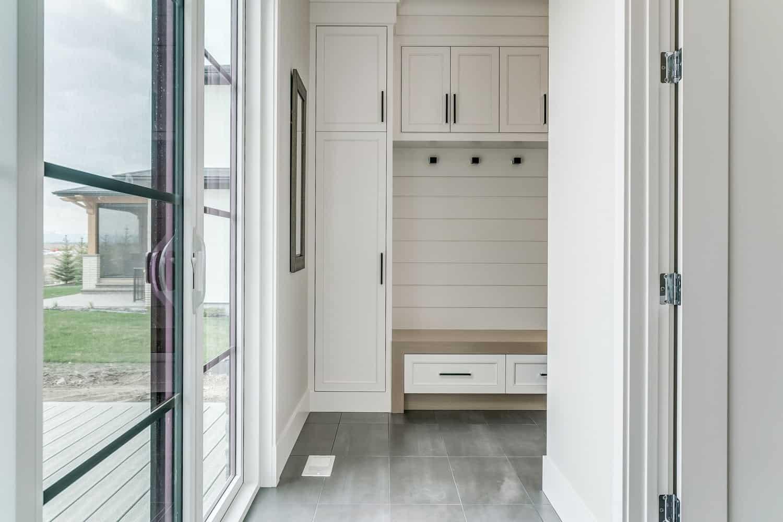 Watermark at Bearspaw mudroom residential designer