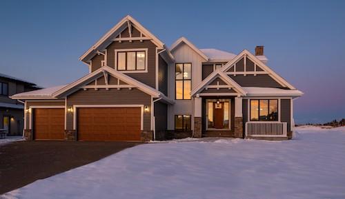 Watermark at Bearspaw Craftsman luxury residential home