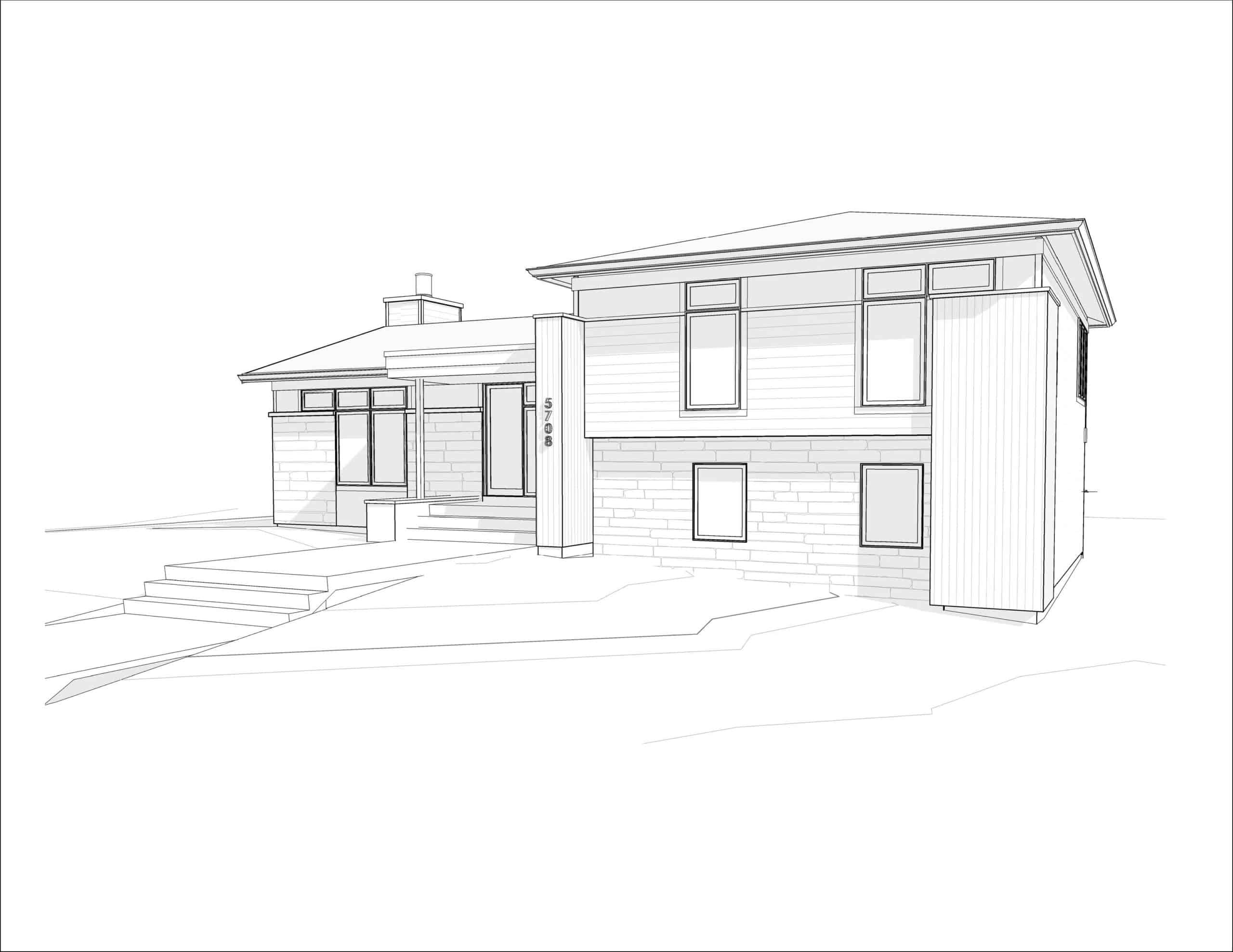 Lawson Place - Modern Renovation custom design