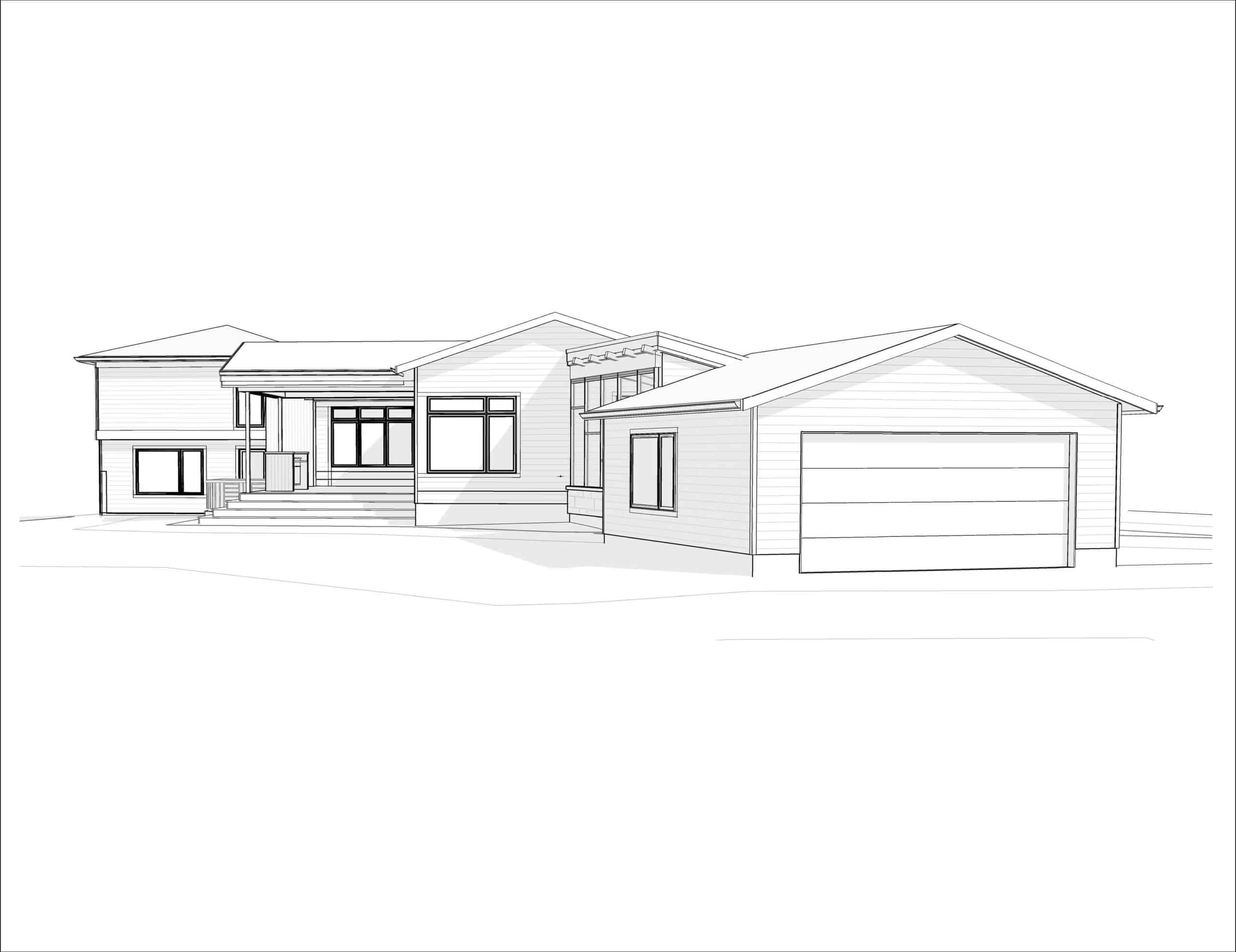 Lawson Place - Modern Renovation rear perspective