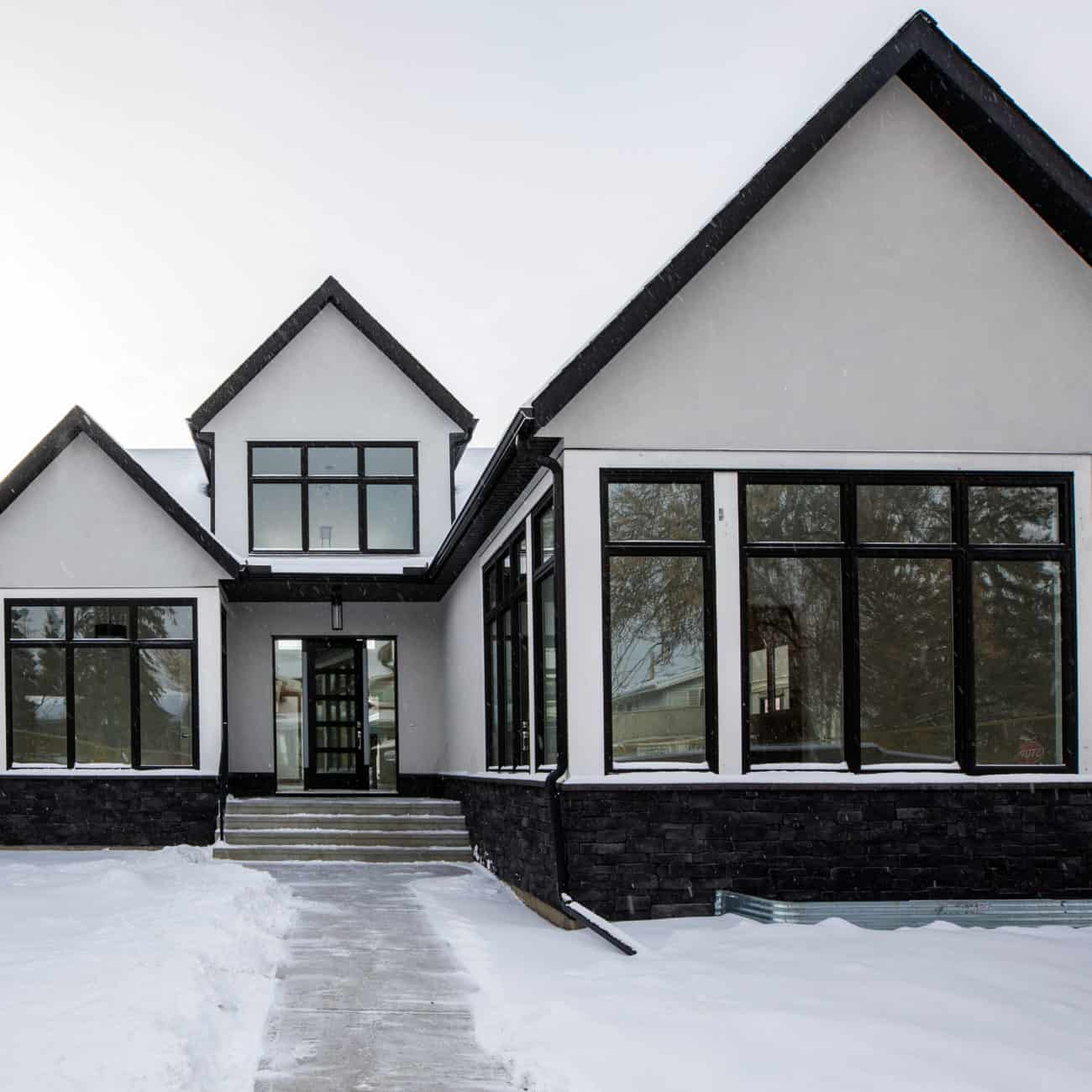 North Glenmore Park Modern Bungalow exterior