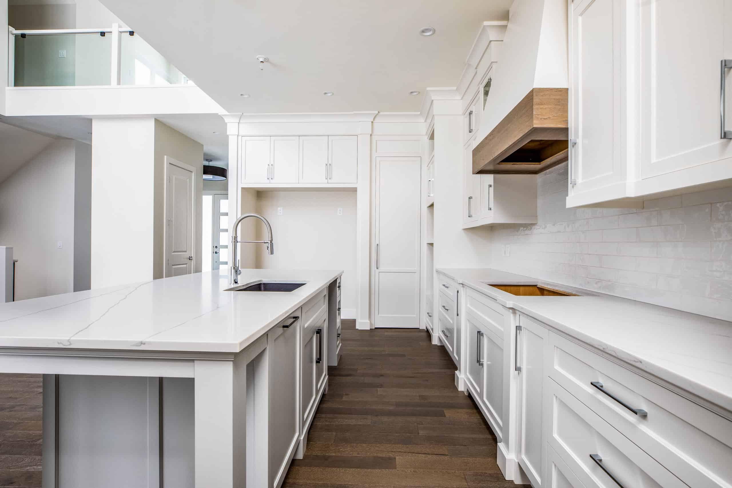 North Glenmore Park Modern Bungalow Kitchen