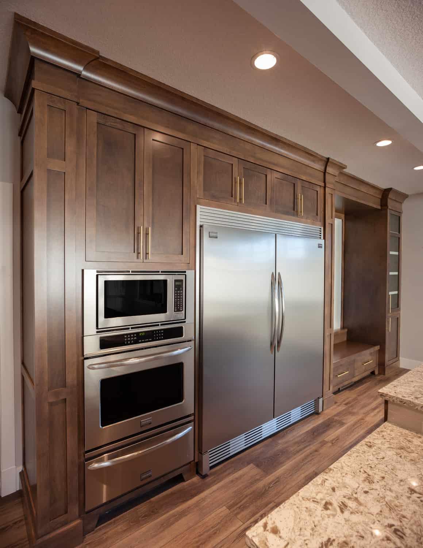Memorial Craftsman kitchen