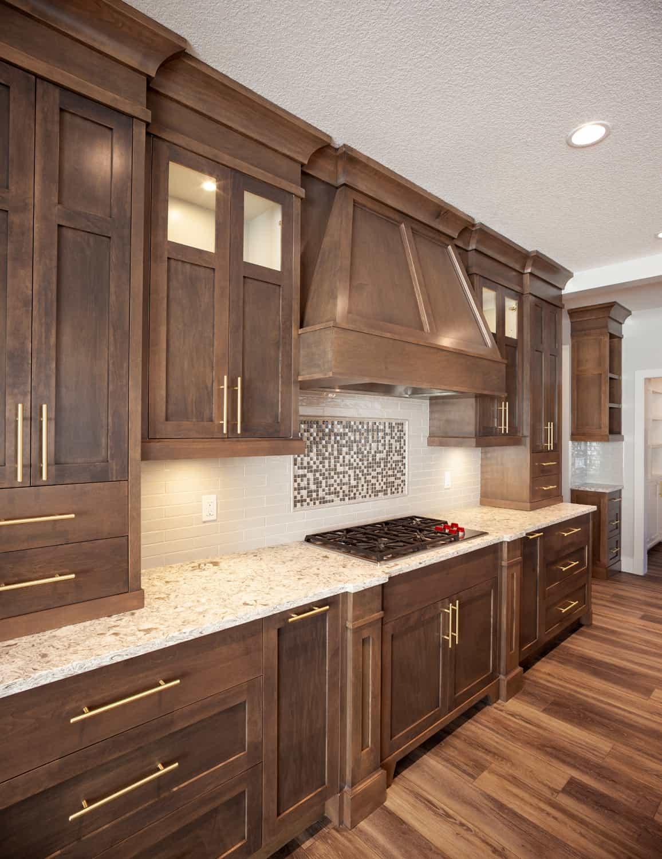 Memorial Craftsman luxury kitchen