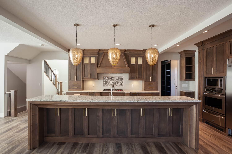 Memorial Craftsman kitchen island