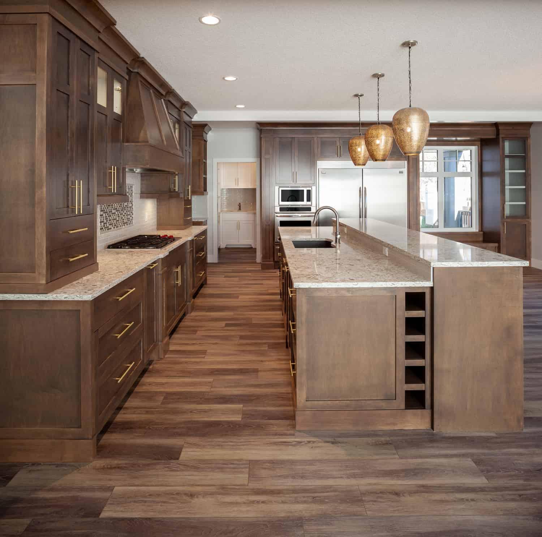 Memorial Craftsman kitchen design