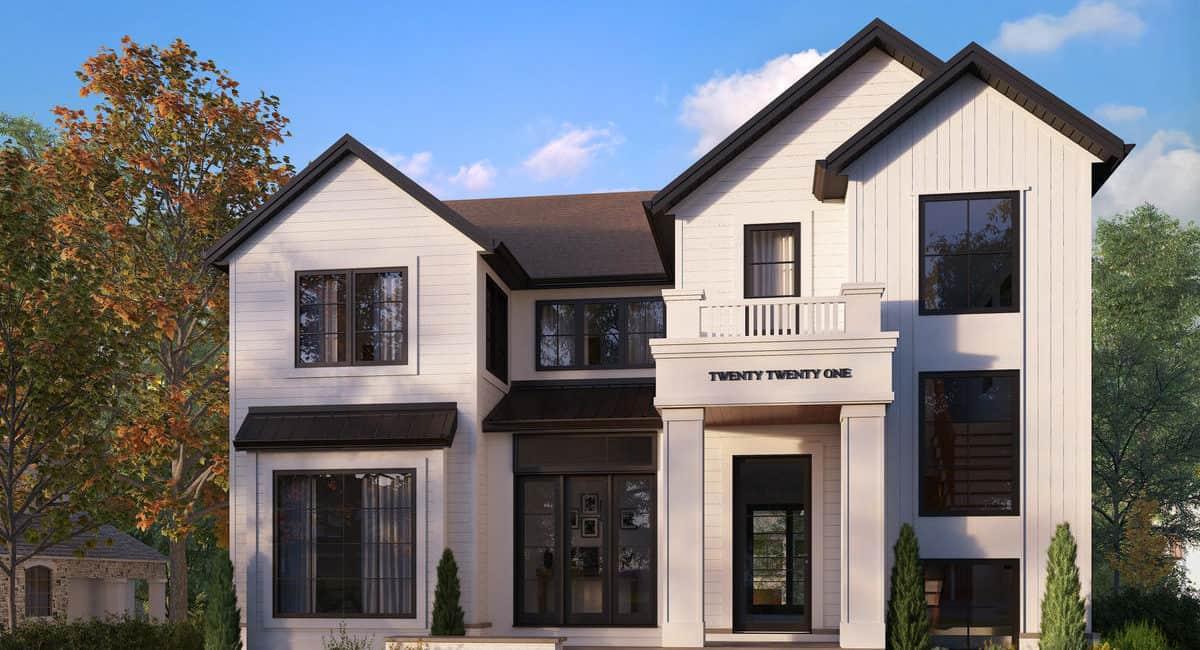 North Glenmore Park Transitional custom residential design