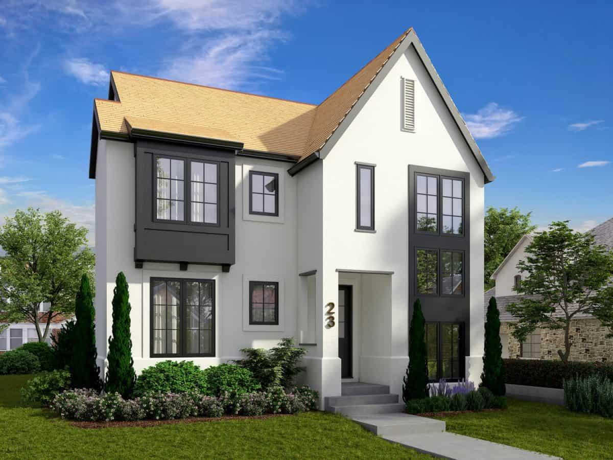 Rosscarrock Modern Cottage custom designed home