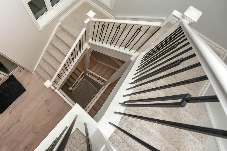 Staircase - Springbank Modern Prairie