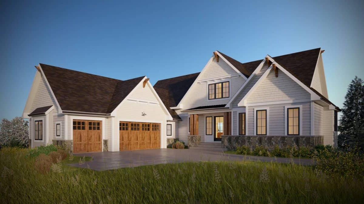 Drumheller Shingle Style residential architecture