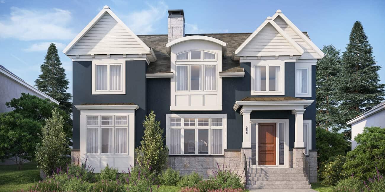 Charleswood Traditional custom luxury dream home