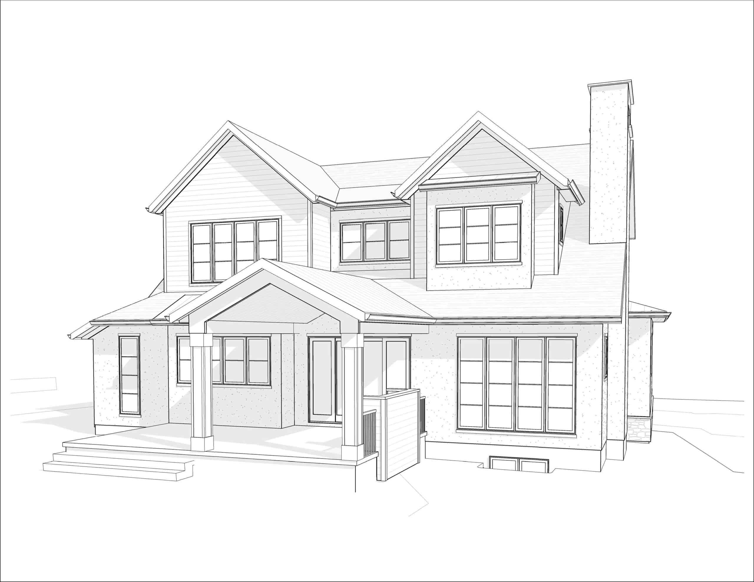 Kelvin Grove Transitional luxury dream home