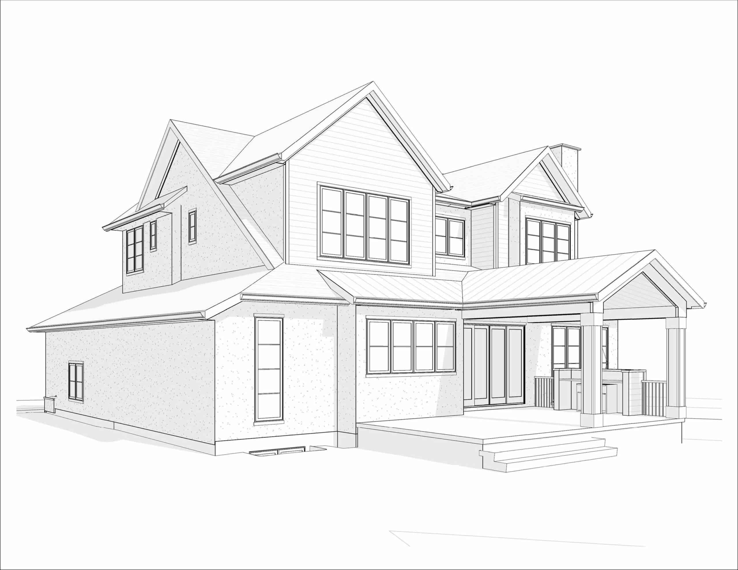 Kelvin Grove Transitional luxury home