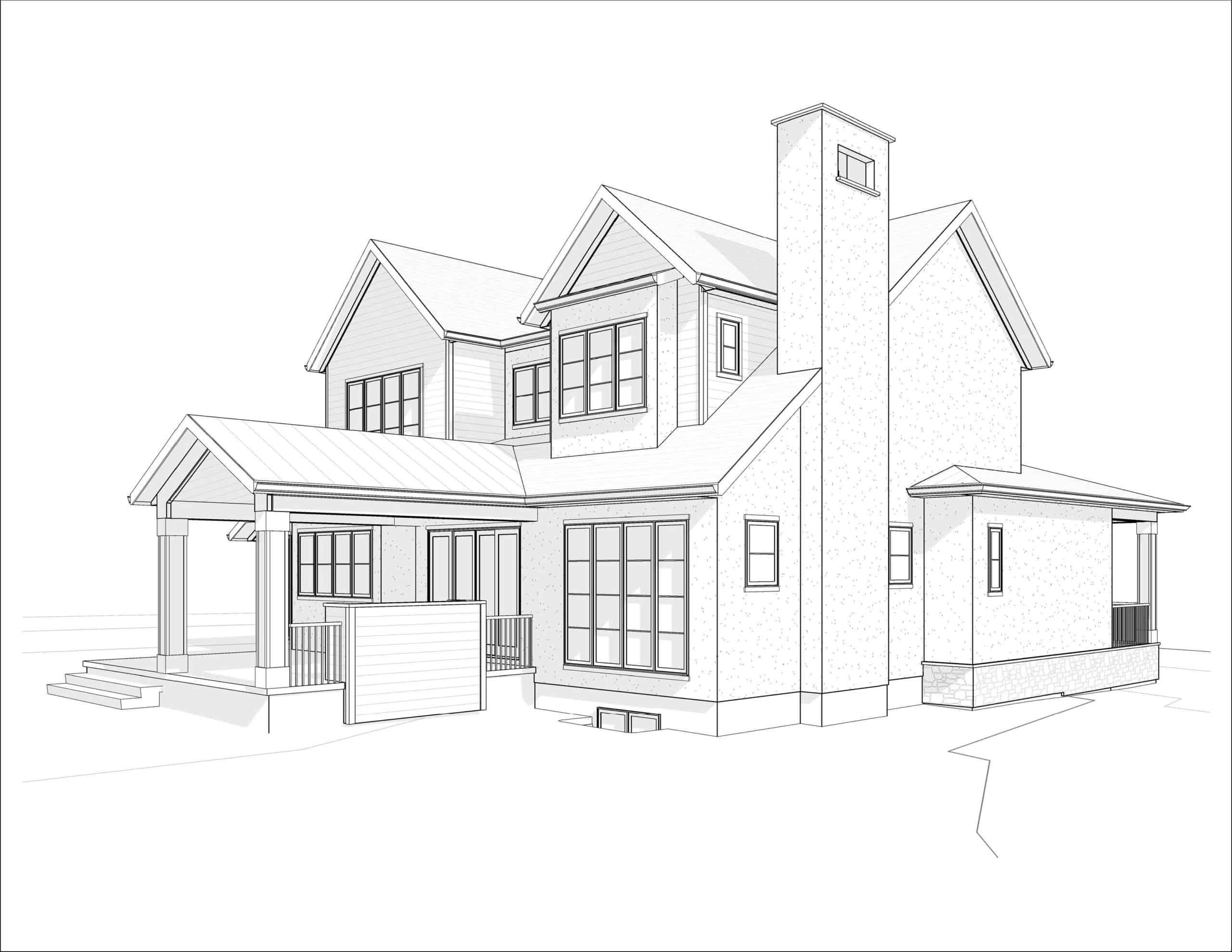 Kelvin Grove Transitional residential design