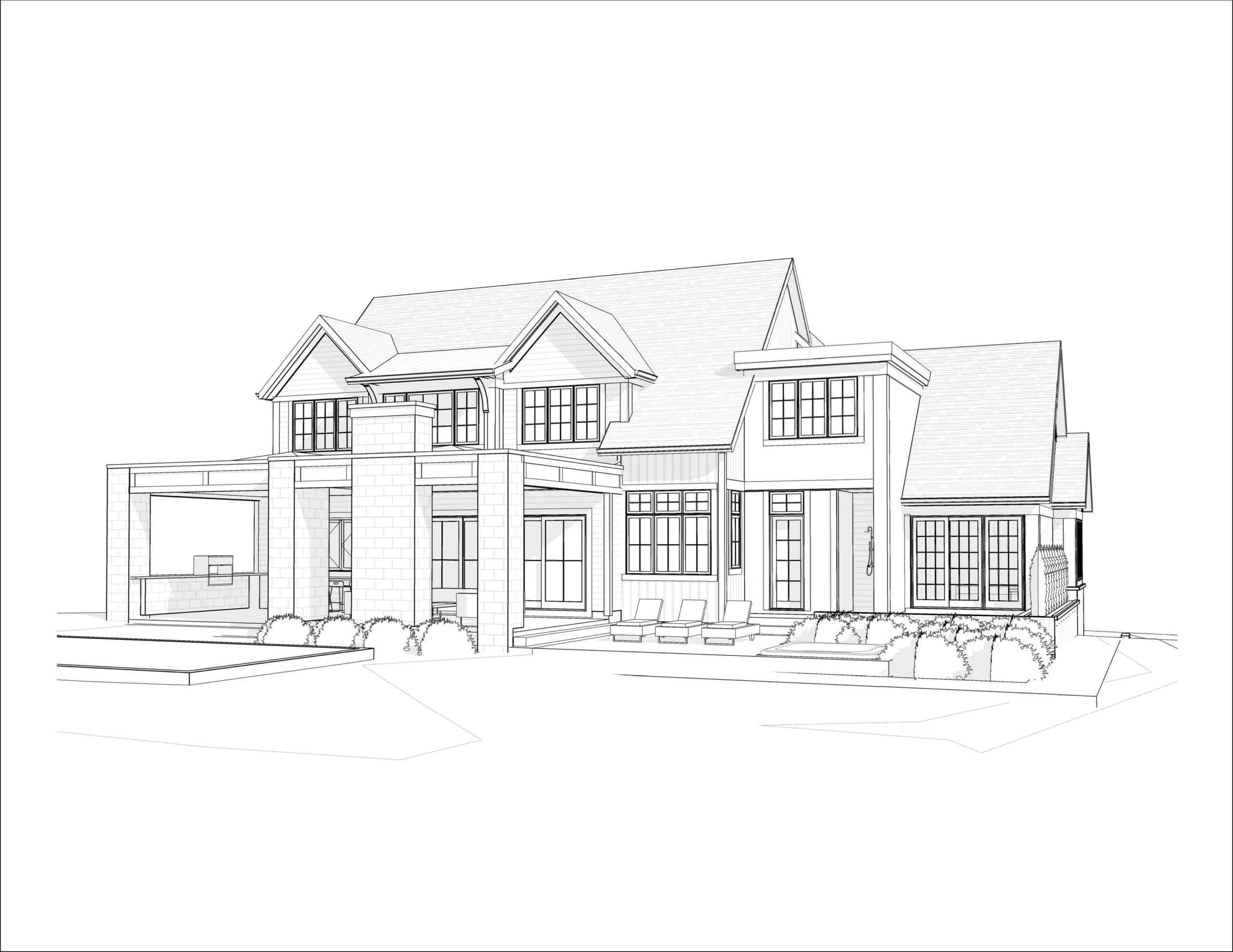 Mount Royal Modern Farmhouse custom luxury home